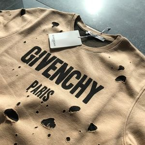 GIVENCHY Men's Sweat Casual NWT Cotton Laser Large